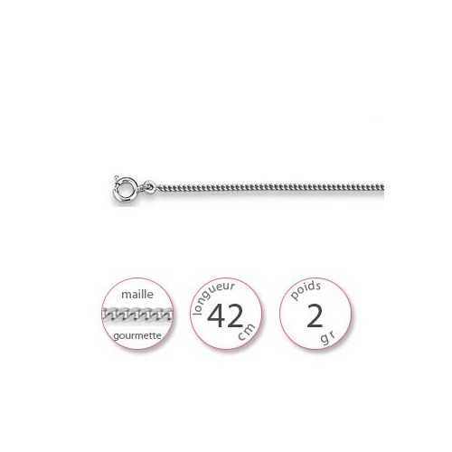 Chainette argent - 000654