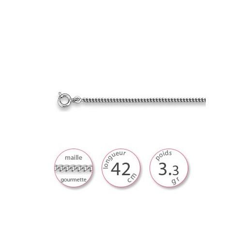 Bijoux chaines argent - 000657