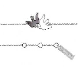 Bracelet Nina Ricci oiseau Argent