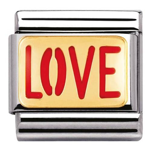 Maillon Nomination classic message love
