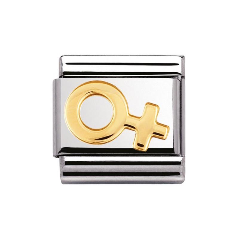 Maillon Nomination classic symbole feminin