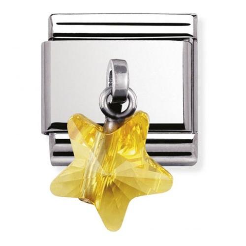 Maillon Nomination classic charms étoile jaune