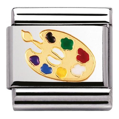 Maillon Nomination classic palette de peintre