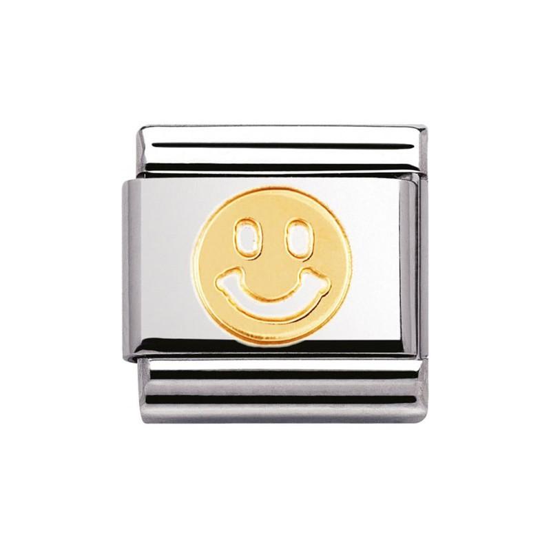 Maillon Nomination classic smiley