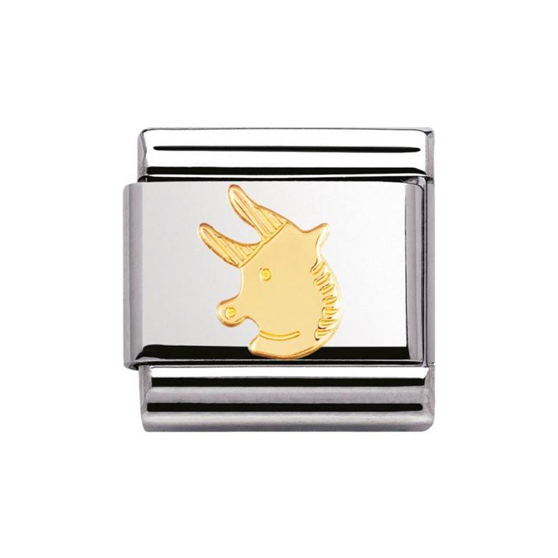 Maillon Nomination classic signe du zodiaque Taureau