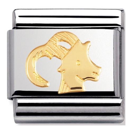 Maillon Nomination classic signe du zodiaque Capricorne
