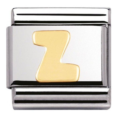 Maillon Nomination classic Lettre Z standard Or