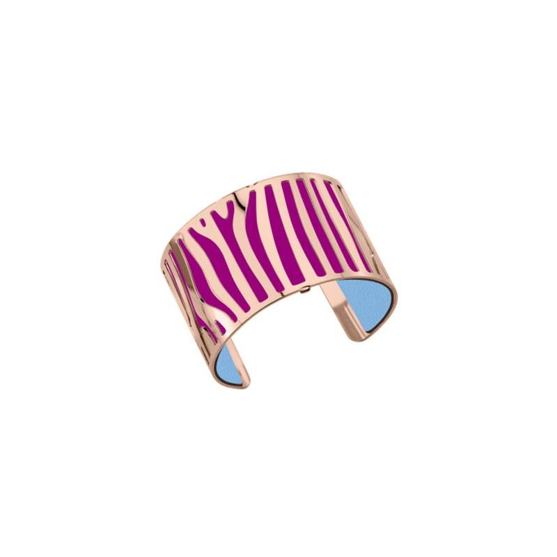 bracelet femme georgette plaqu or rose et cuir reversible 003254. Black Bedroom Furniture Sets. Home Design Ideas