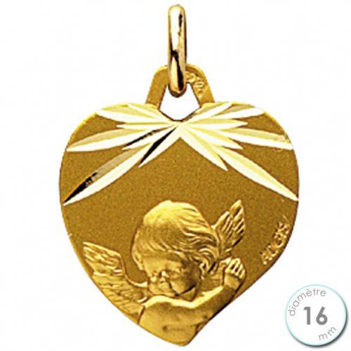 Extrêmement Médaille de baptême Ange en Or - Augis ED53