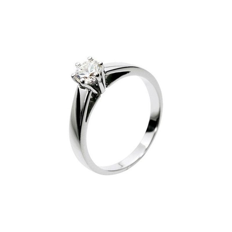 Bague solitaire Or et Diamant