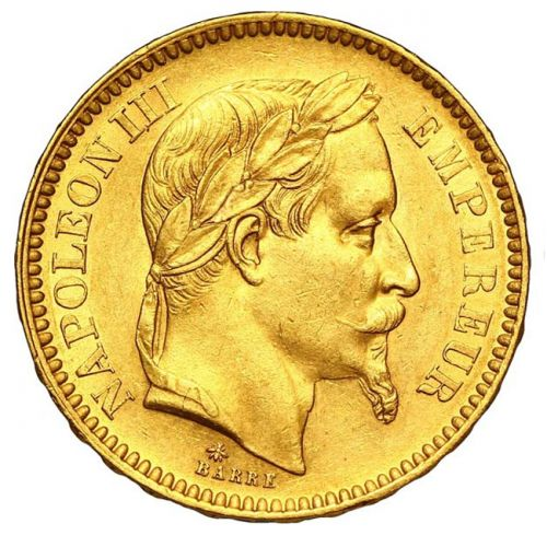 Pièce Or 20 francs Napoléon