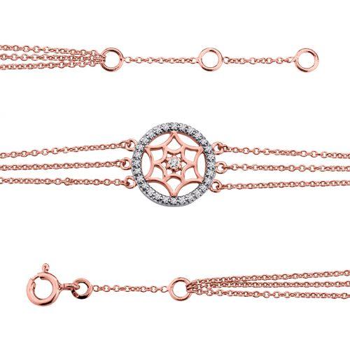 Bracelet plaqué Or rose