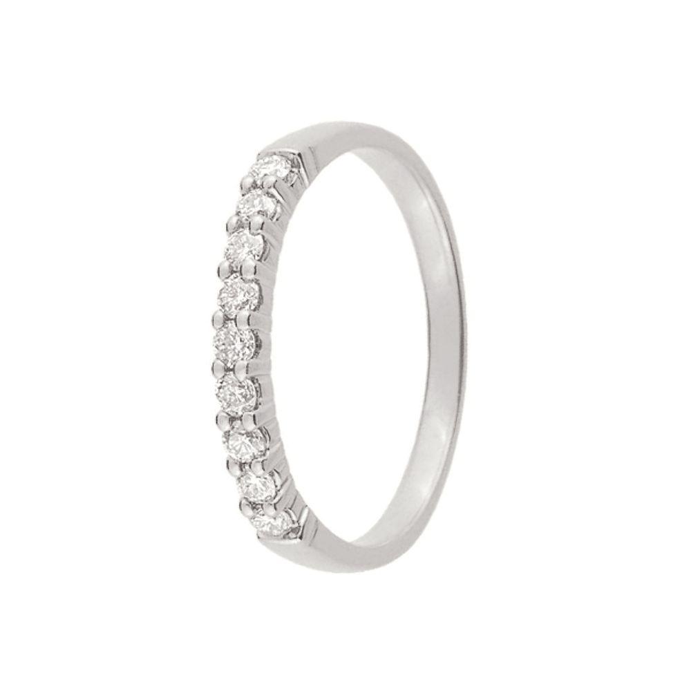 alliance de mariage or blanc et diamant 11770921. Black Bedroom Furniture Sets. Home Design Ideas