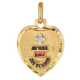 Médaille d'Amour en Or - Augis