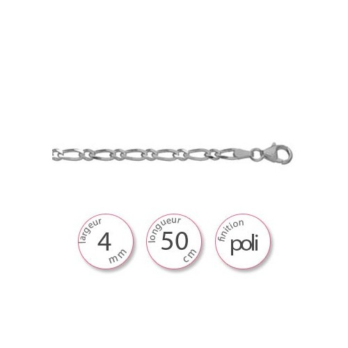 Chaine argent - 001036