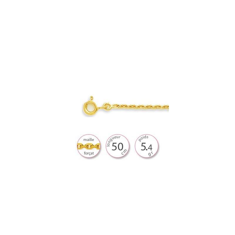 Chaine maille forçat - 001450