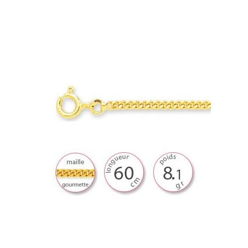 Chaine or jaune - 001499