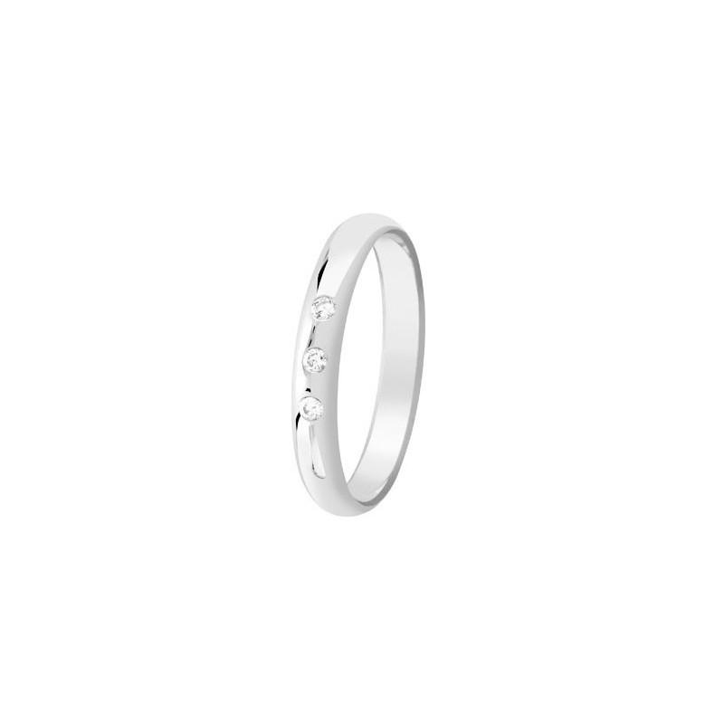 Bague avec diamants - 002744