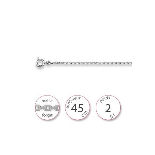 Chaine argent - 000639