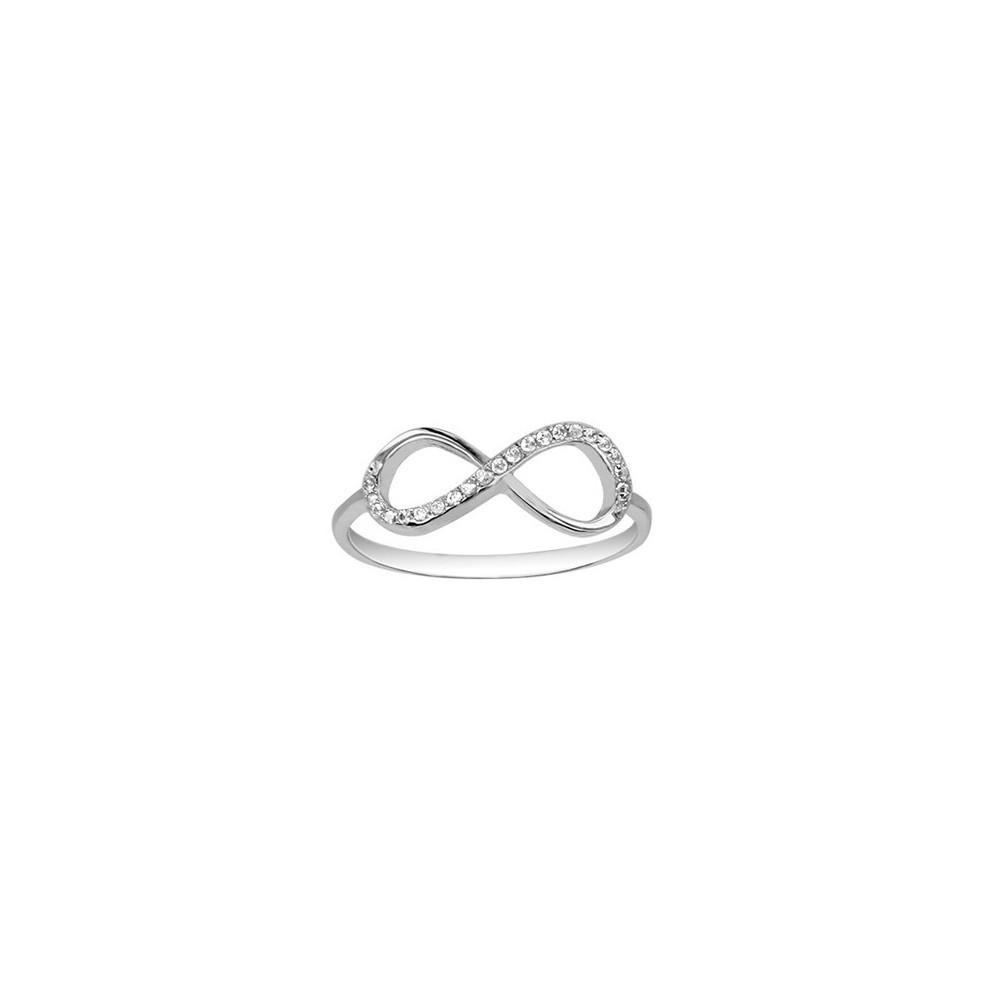 bague or symbole infini
