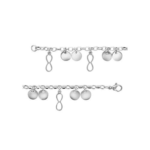 Bracelet Acier infini