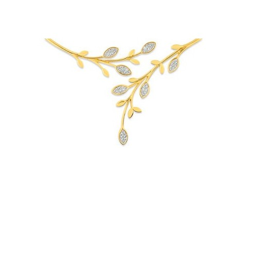 Prestigieux collier en Plaqué Or