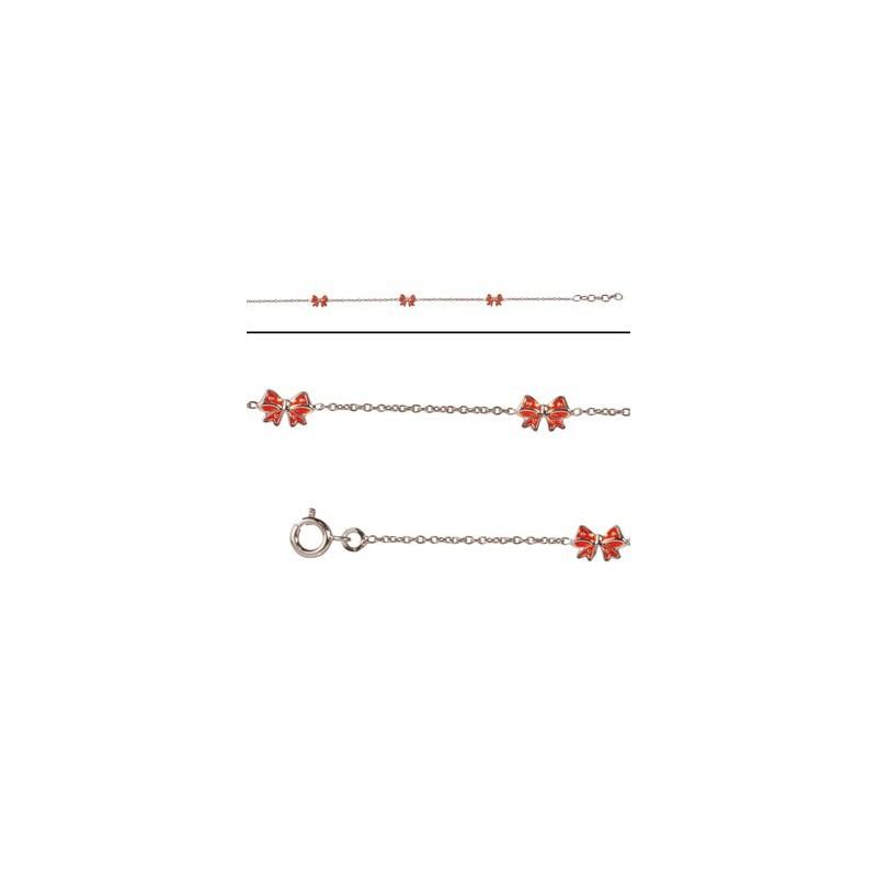 Bracelet noeud pour enfant en Argent
