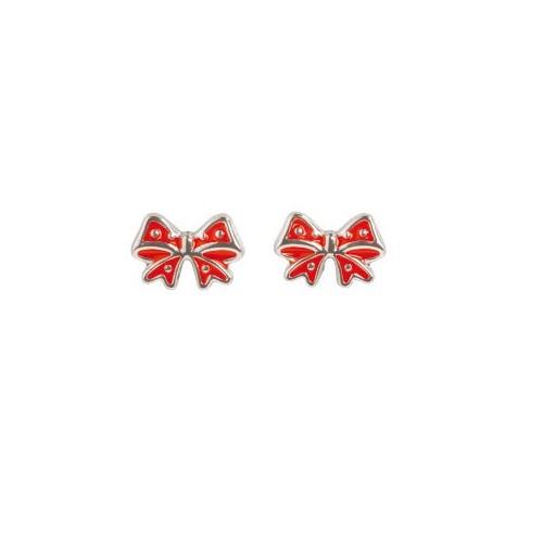 Boucles d'oreilles en Argent noeud