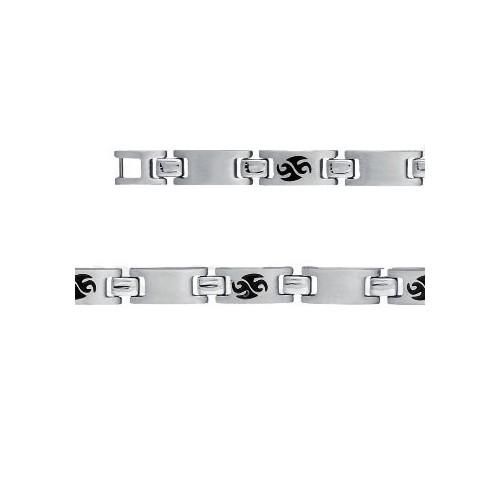 Bracelet Acier motif tribal