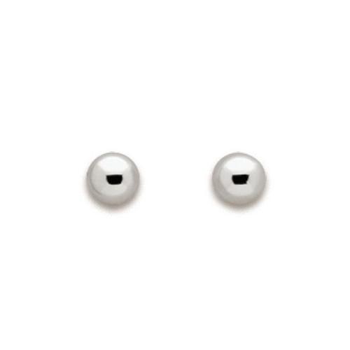 Boucles d'oreilles Or blanc