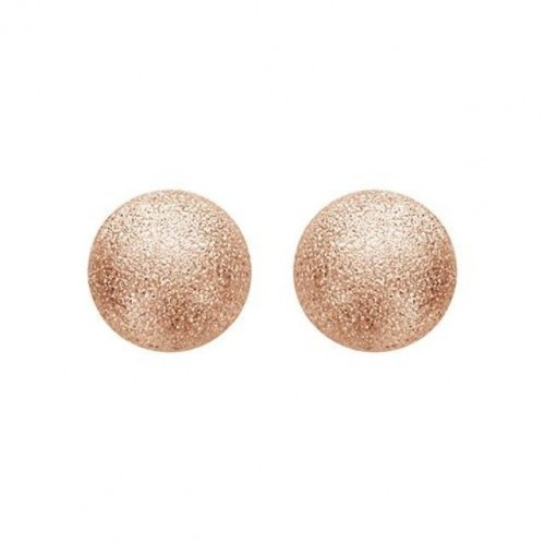 Boucles d'oreilles acier rose