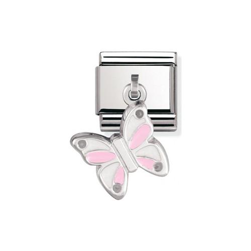 Maillon Nomination classic charms papillon