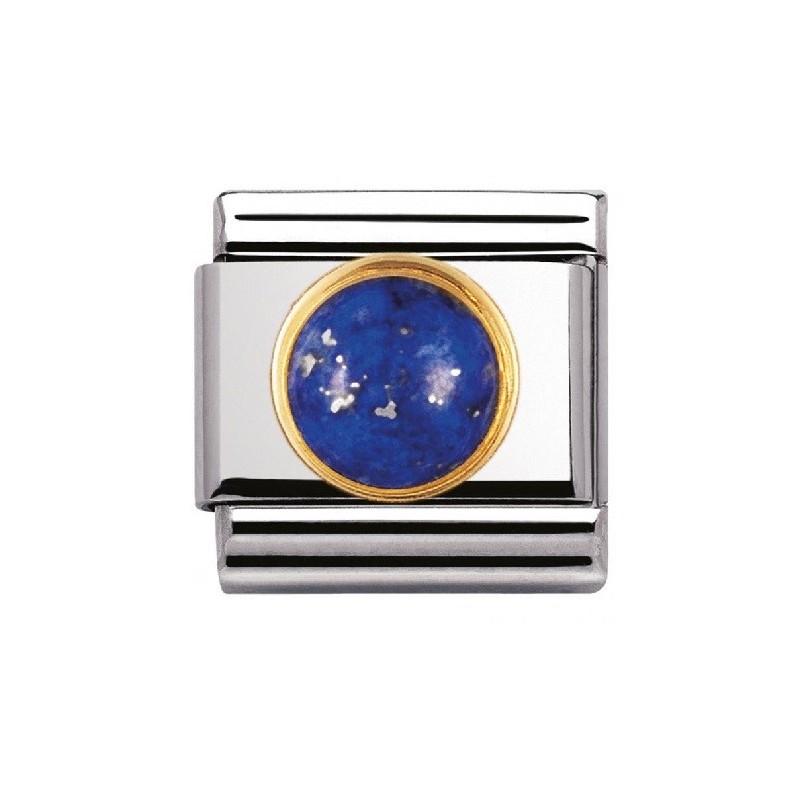 Maillon Nomination classic lapis lazuli