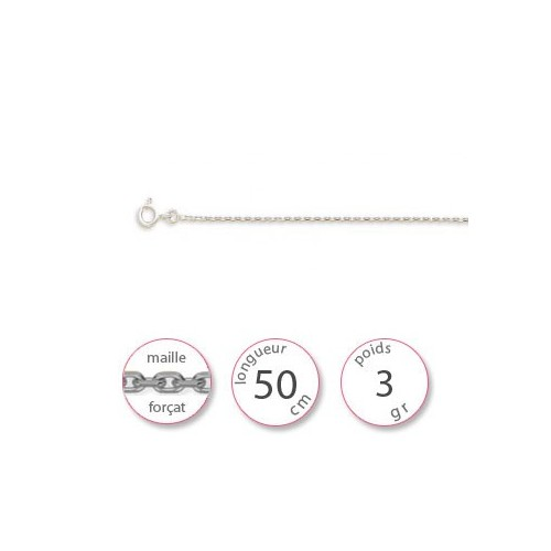 Chaines Or blanc - 000797