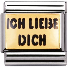 Maillon Nomination classic ich liebe dich