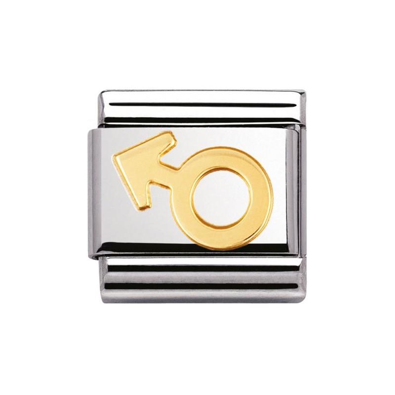 Maillon Nomination classic symbole masculin