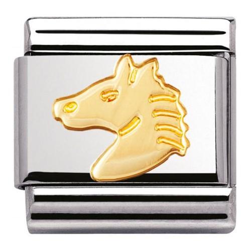 Maillon Nomination classic tête de cheval