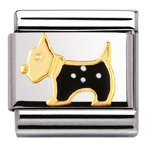 Maillon Nomination classic Chien terrier
