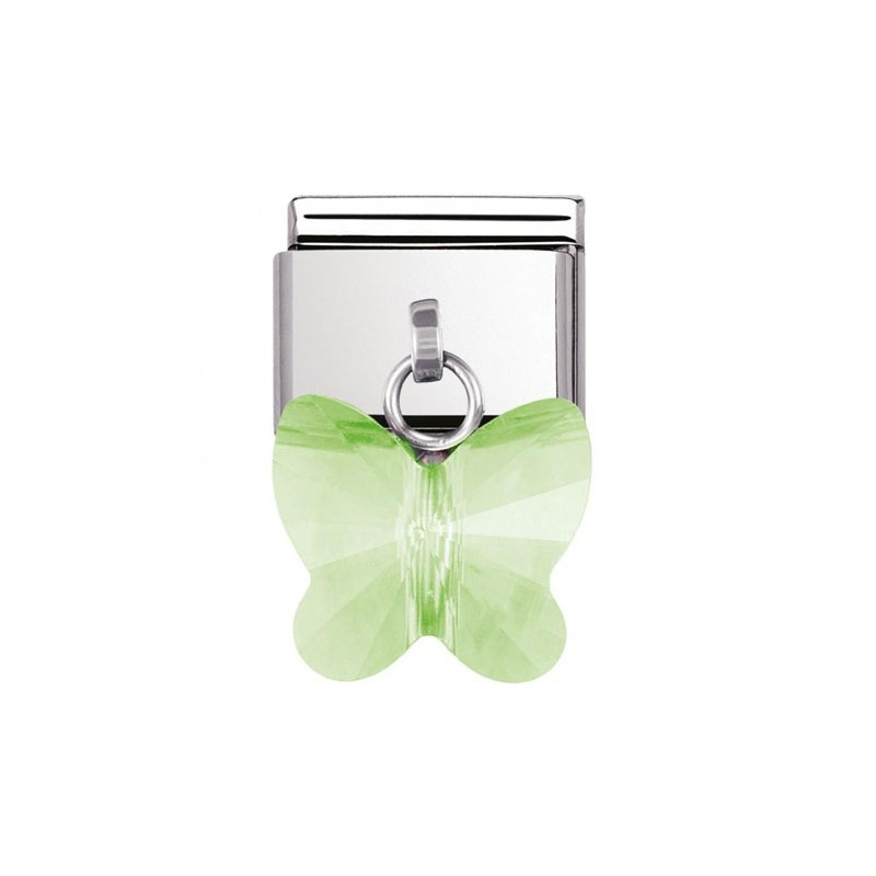 Maillon Nomination classic charms papillon vert