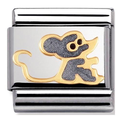 Maillon Nomination classic petite souris