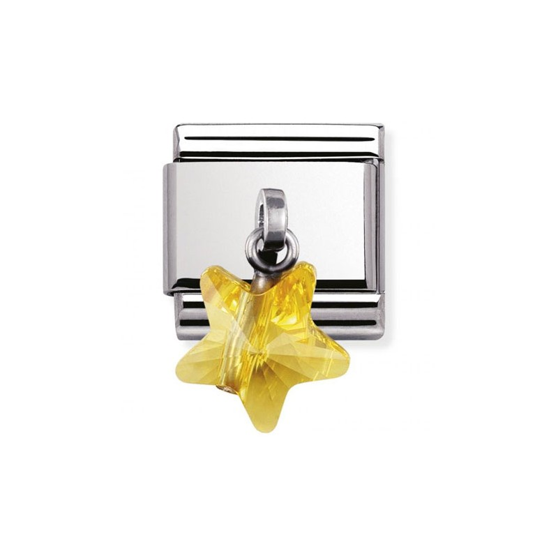 Maillon Nomination classic charms étoile jaune