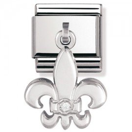 Maillon Nomination classic charms lys