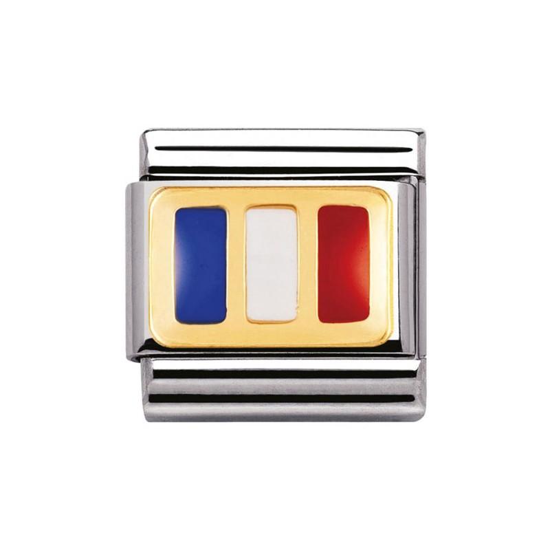 Maillon Nomination classic drapeau français