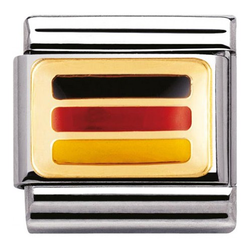 Maillon Nomination classic drapeau allemand