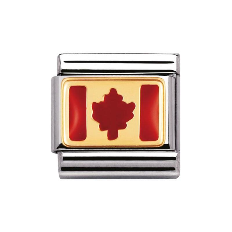 Maillon Nomination classic drapeau canada