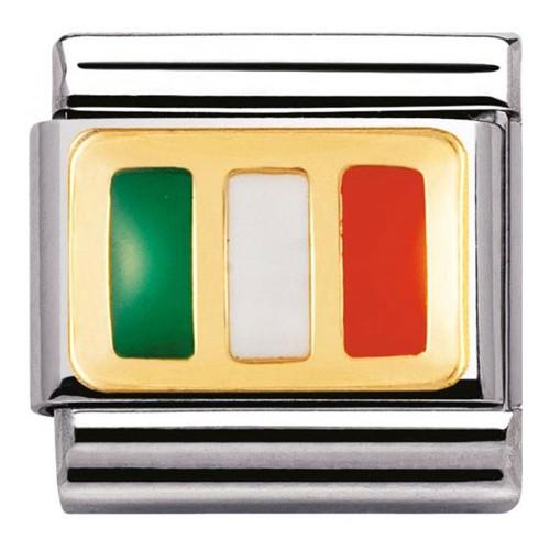 Maillon Nomination classic drapeau irlandais