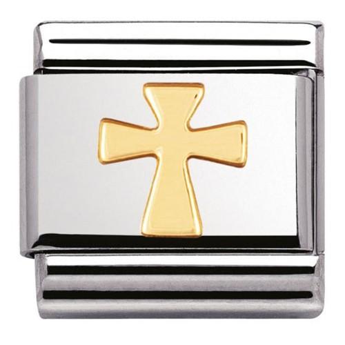 Maillon Nomination classic croix