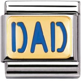 Maillon Nomination classic Dad