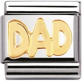 Maillon Nomination dad en Or