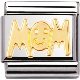 Maillon Nomination classic mom en Or